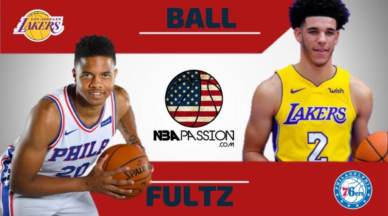 Markelle Fultz vs Lonzo Ball • 76ers - Lakers • Le prime due scelte del draft NBA 2017