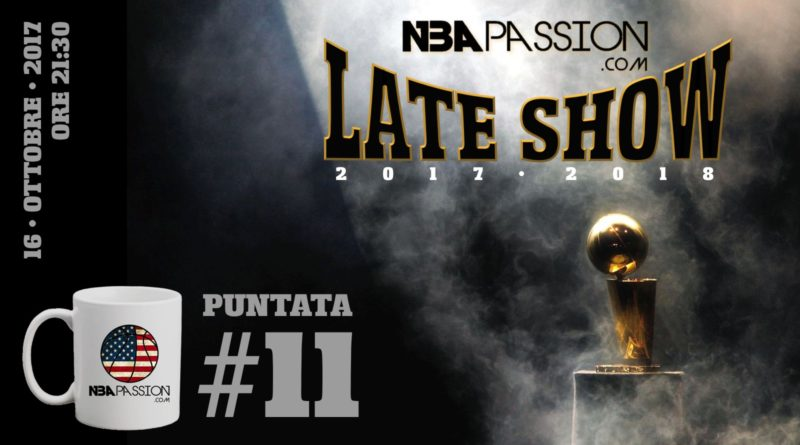 NBA Passion Late Show https://www.youtube.com/channel/UCEyxP2xh6-BoeiceboenSbA