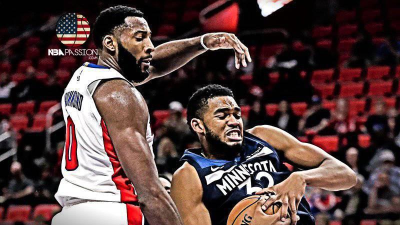 Pistons nuova stagione Drummond Detroit Pistons