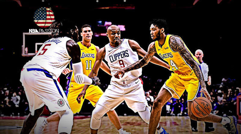 Los Angeles Lakers Lakers-Clippers
