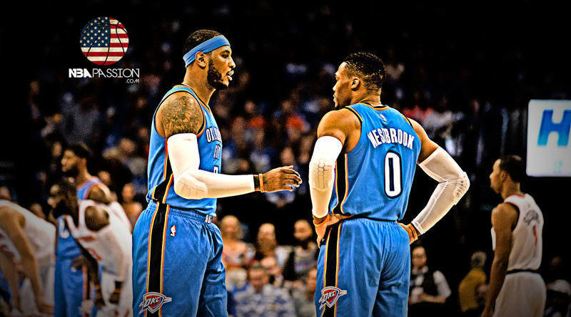 Westbrook Carmelo Anthony