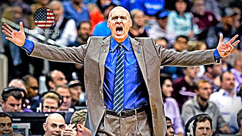 Rick Carlisle, coach dei Dallas Mavericks.