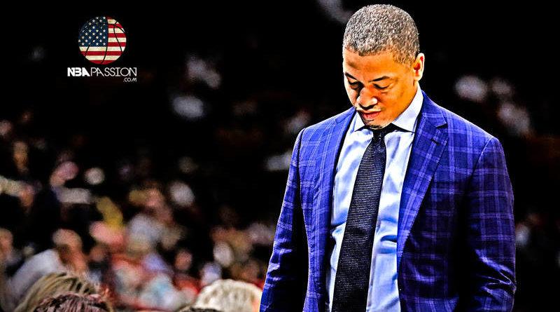 Tyronn Lue Cavs-Knicks