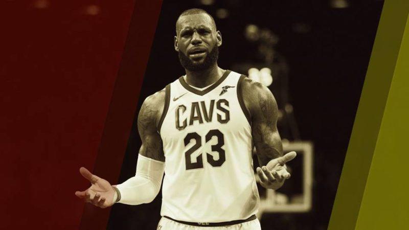 reazioni dei tifosi-Free Agency 2018 LeBron James Cleveland Cavaliers