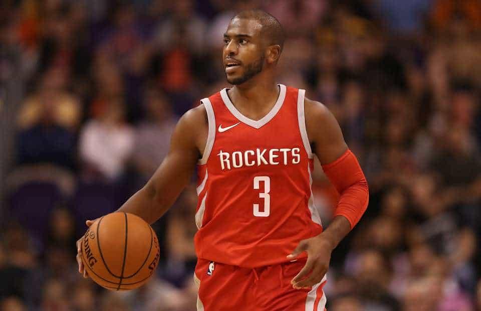Chris Paul assist-Houston Rockets
