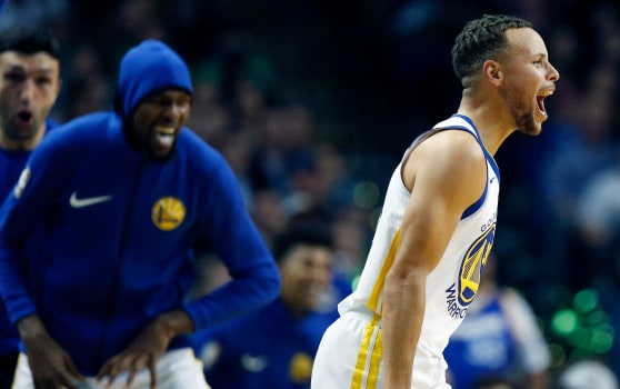 Steph Curry-Programma Sky Sport Warriors