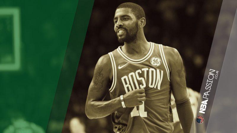 Kyrie Irving-leader-Boston Celtics
