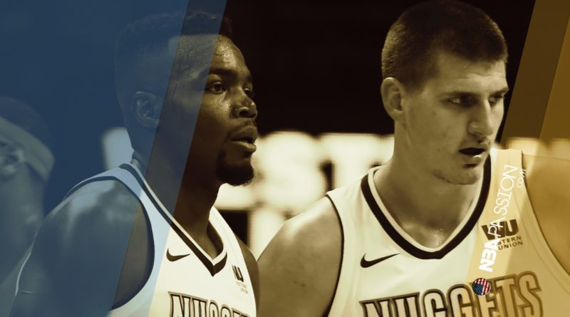 Paul Millsap e Nikola Jokic, le due torri dei Denver Nuggets.