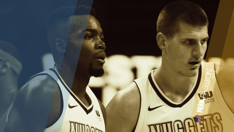 Denver Nuggets Paul Millsap e Nikola Jokic, le due torri dei Denver Nuggets.