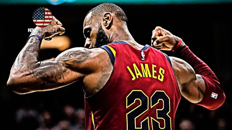 Fisico di LeBron James
