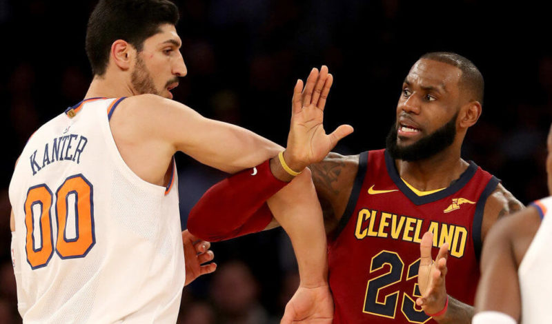 Enes Kanter-New York Knicks-LeBron James: