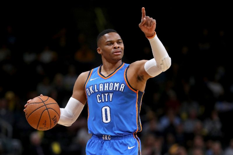 playoffs nba-Westbrook 100 triple doppie