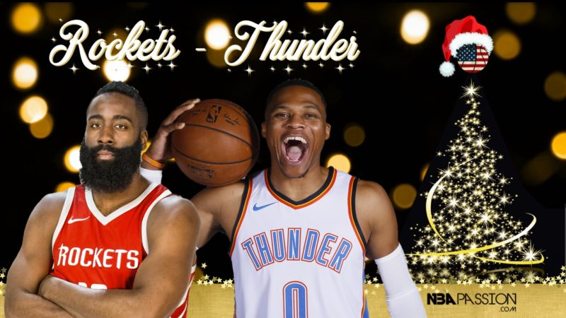9a7019a8225 NBA Christmas Preview  Houston Rockets   Oklahoma City Thunder. Christmas  Preview