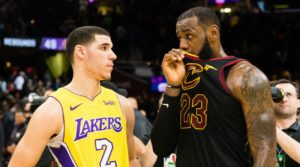 Lakers-LeBron-cavaliers-lakers Lonzo Ball