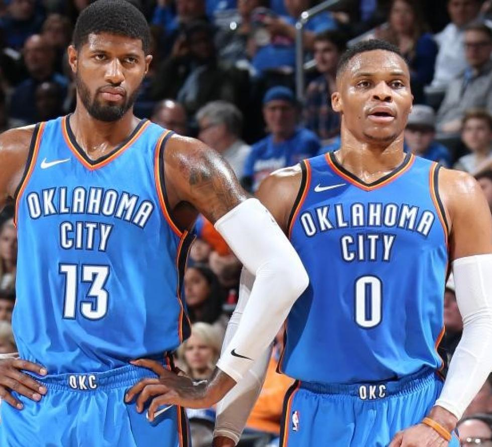 Westbrook e George-free agency Paul George Sky Sport NBA programma