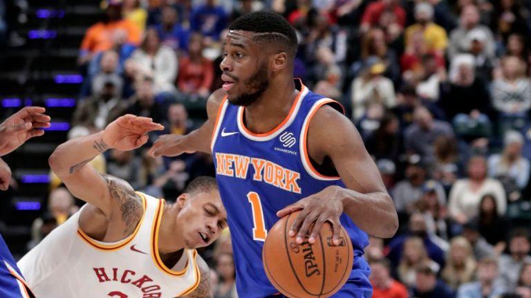 Emmanuel Mudiay esordio con i Knicks