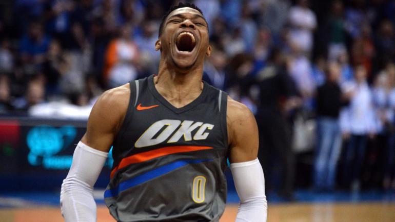 OKC Thunder-NBA Stats Westbrook-Westbrook tripla doppia