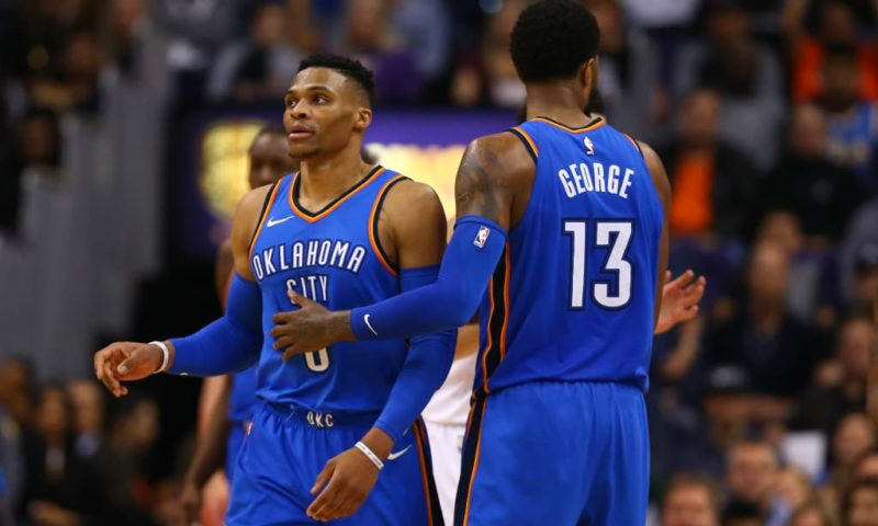Westbrook-MVP-Dwight Howard-rimonta OKC-Westbrook Paul George