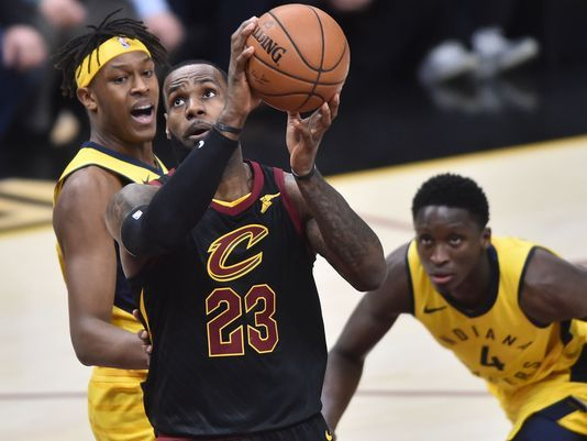 Cavaliers-Pacers-Playoffs NBA 2018