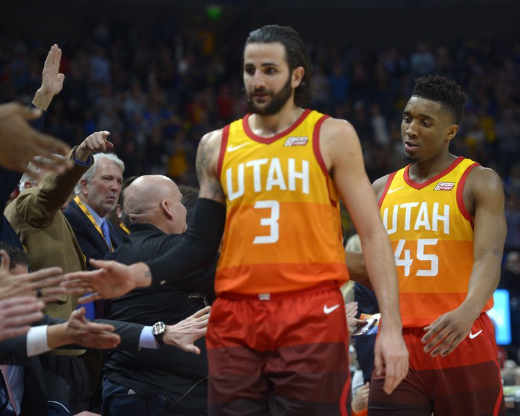 Ricky Rubio infortunio Utah Jazz