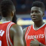 Clint Capela-Capela-Lakers-Difesa Houston Rockets