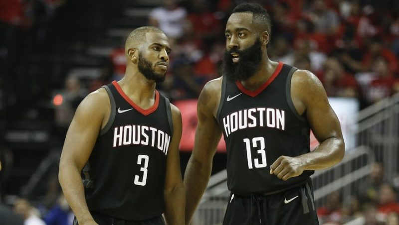 Chris Paul su Harden-Houston Rockets