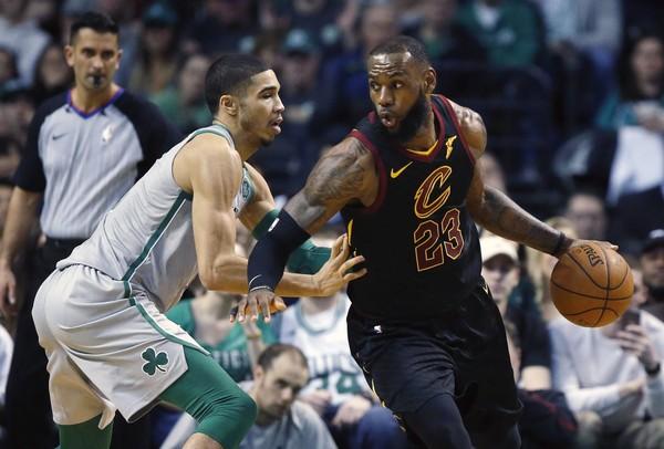 Jayson Tatum-Boston Celtics-Cleveland Cavaliers gara 1 Celtics-Cavaliers streaming