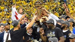 Power Ranking NBA-NBA-finals-2019-warriors-festeggiano-Golden State Warriors 2018/2019