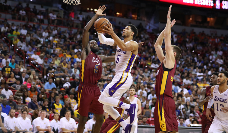 Josh Hart at Las Vegas Summer League