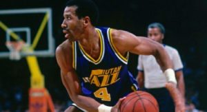 Adrian Dantley, superstar degli Utah Jazz Anni '80