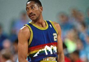 Alex English, leader dei Denver Nuggets e miglior realizzatore degli Anni '80