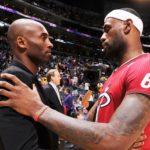 Kobe Bryan and LeBron James