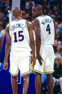 Latrell Sprewell e Chris Webber, speranze infrante dei Golden State Warriors post-Run TMC