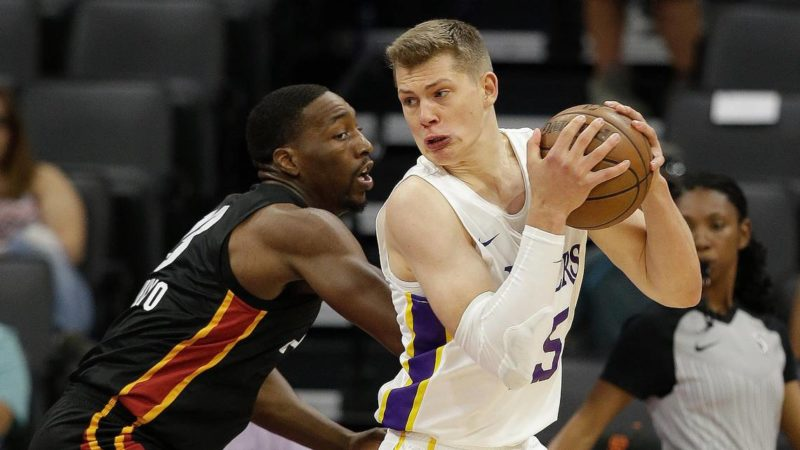 Moritz Wagner and Bam Adebayo, California Classic Summer League