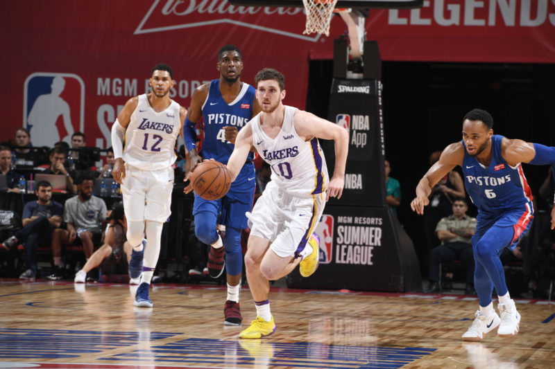 Sviatoslav Mykhailiuk at Las Vegas Summer League