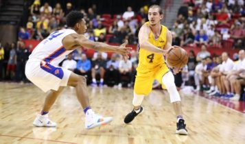 Alex Caruso at Las Vegas Summer League