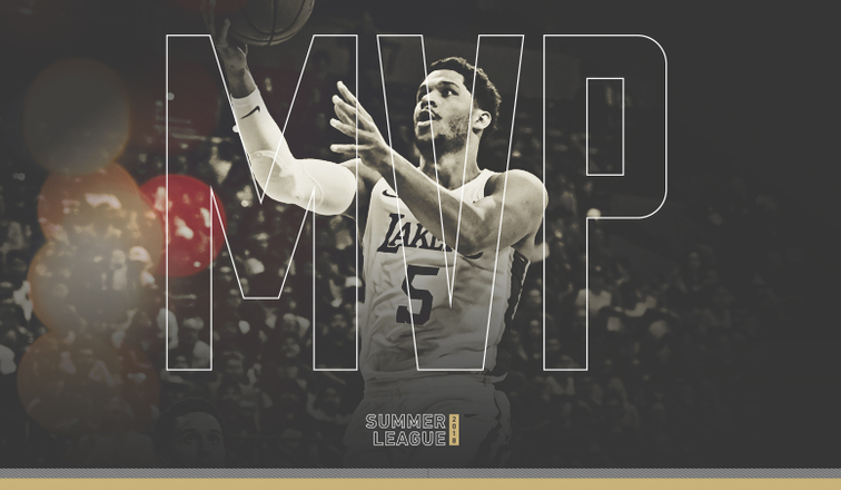 Josh Hart MVP of the 2018 Las Vegas Summer League