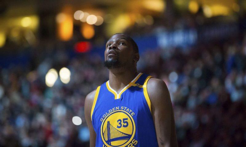 infortunio alla caviglia per Durant