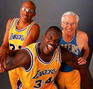 George Mikan, Kareem Abdul-Jabbar e Shaquille O'Neal, i tre grandi centri della storia dei Lakers