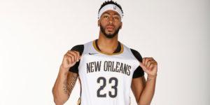 Anthony Davis sarà il volto di New Orleans anche nel 2018/19