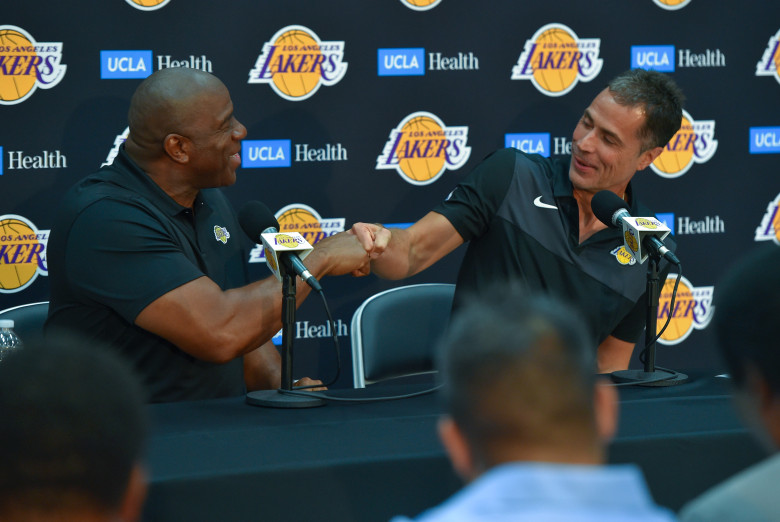Lakers Press Conference: Magic Johnson and Rob Pelinka