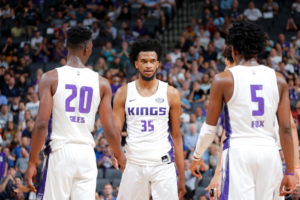 Nel 2018/19 dei Kings riflettori puntati su Harry Giles (#20), Marvin Bagley (#35) e De'Aaron Fox (#5)