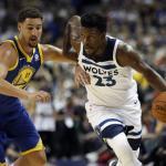 Butler-T'Wolves-NBA Sunday-Warriors