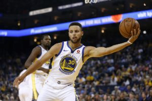 Nuggets-Warriors Steph Curry