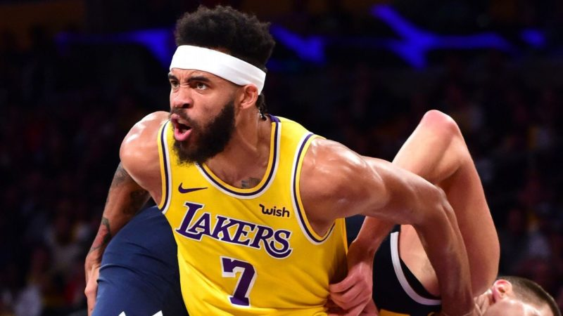 Lakers-Timberwolves-Suns-Lakers JaVale McGee