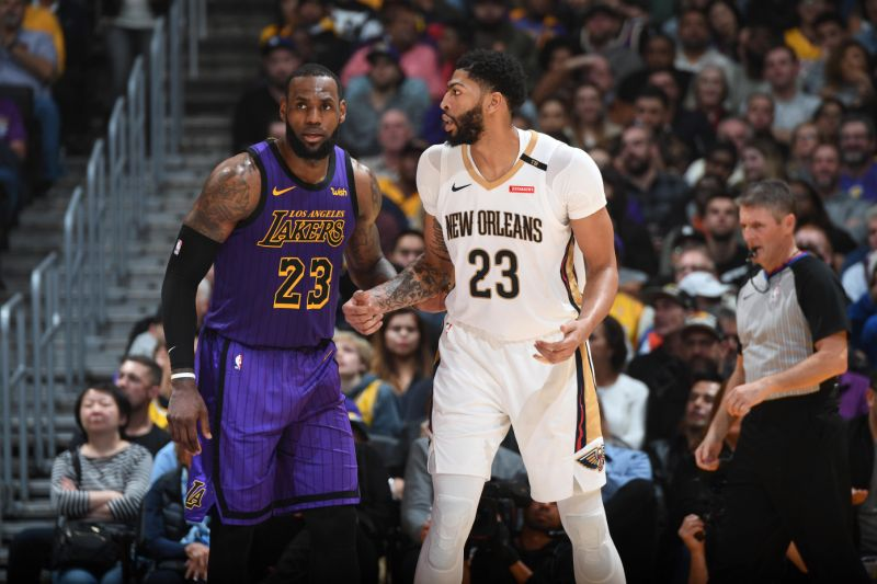 LeBron James-Anthony Davis il possibile duo Anti-Warriors?