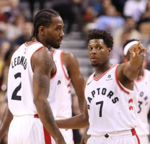 """""""Guardali, Kawhi... Dicevano che quest'anno avresti pensato solo ai Lakers!"""""""