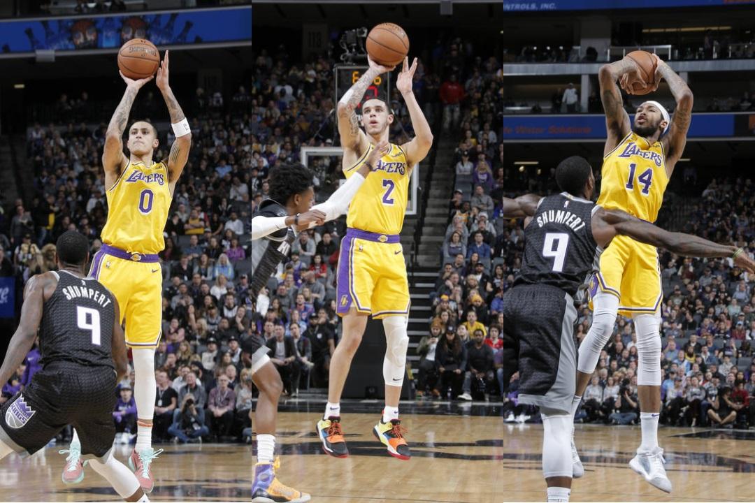 separation shoes 90446 0904a Kings-Lakers  la tripla di Bogdanovic beffa i gialloviola