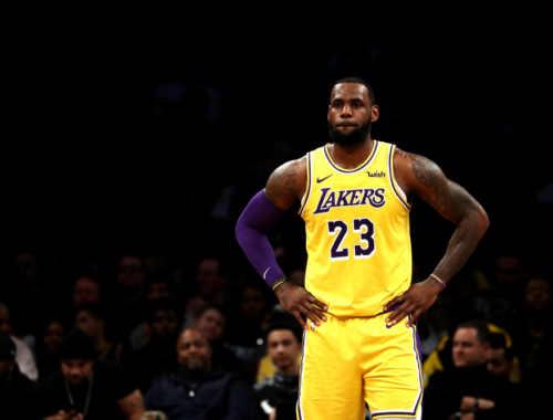 Superstars NBA-lebron james-lakers-foto