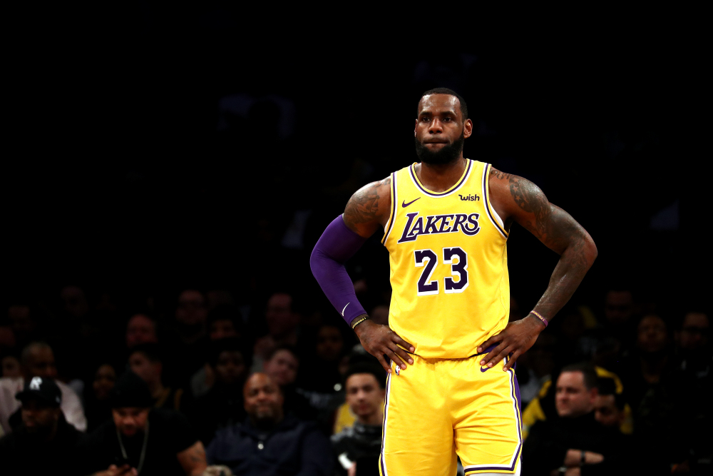 Superstars NBA-lebron-lakers-foto